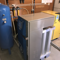 Scientific laboratory Install Nitrogen Generator