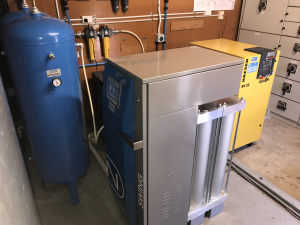 Scientific laboratory Install Nitrogen Generator
